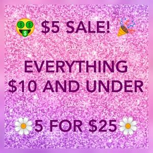 HUGE SALE! ALMOST EVERYTHING INCLUDED! 💃